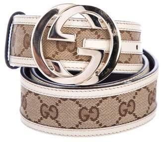 Gucci Canvas GG Belt
