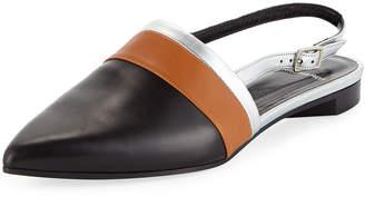 26de71b9c5e Pierre Hardy Alpha Mixed Slingback Loafers