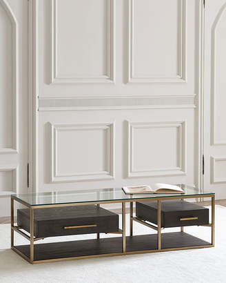 Hooker Furniture Vedetta 2-Drawer Coffee Table