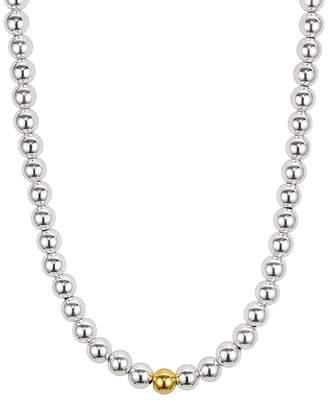 Aqua 8mm Beaded Necklace - 100% Exclusive