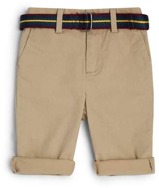 Polo Ralph Lauren Stretch-Cotton Belted Chinos