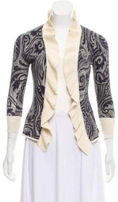 Diane von Furstenberg Knit Printed Cardigan