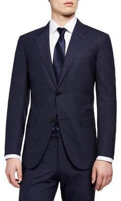 Ermenegildo Zegna Men's Trecapi Solid Two-Piece Suit