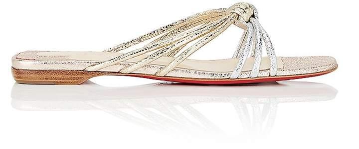 Christian Louboutin Women's Castatane Slide Sandals