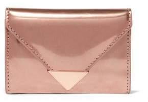Alexander Wang Prisma Metallic Glossed-Leather Wallet