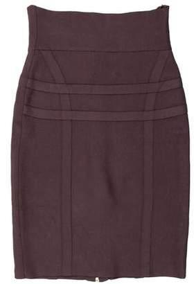Herve Leger Knee-Length Pencil Skirt