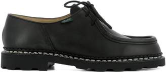 Paraboot Black Leather Lace-up