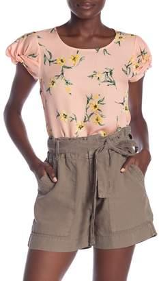 a9b50ce6b5dfc6 Joie Silk Short Sleeve Blouse - ShopStyle