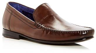 Ted Baker Men's Simeen Leather Moc Toe Loafers
