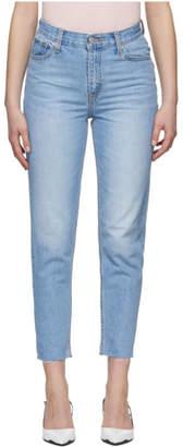 Levi's Levis Blue Mom Jeans