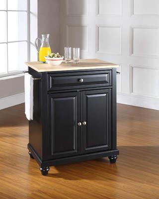 Three Posts Goreville Kitchen Cart