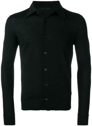 Daniele Alessandrini button-up polo jumper