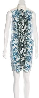 Alexander Wang Printed Knee-Length Dress