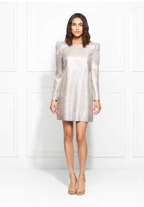 Rachel Zoe Millie Metallic Suiting Mini Dress