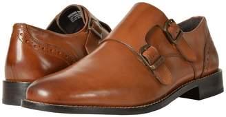 Nunn Bush Norway Plain Toe Double Monk Dress Casual Slip-On Men's Plain Toe Shoes