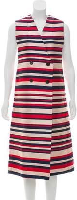 Tome Striped Midi Dress