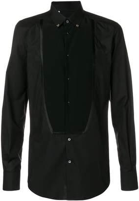 Dolce & Gabbana bib front shirt