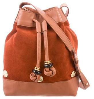 Lizzie Fortunato Suede & Leather Bucket Bag