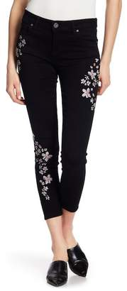 KUT from the Kloth Connie Embroidered Super Skinny Jeans