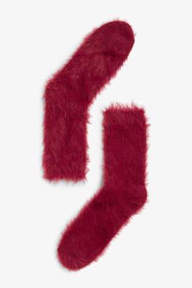 Monki Fluffy socks