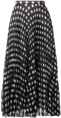 Marco De Vincenzo polka dot midi skirt