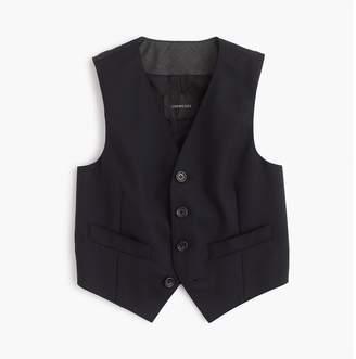 J.Crew Boys' Ludlow suit vest in Italian wool