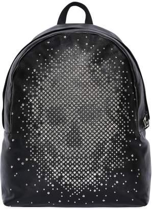 Alexander McQueen Studded Skull Leather Backpack