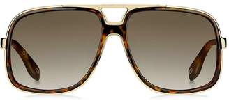 Marc Jacobs Eyewear oversized aviator sunglasses