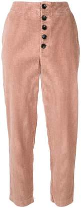 Chloé Stora Patt corduroy tapered trousers