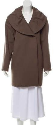 Cinzia Rocca Wool and Camel Blend Coat