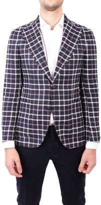 Tagliatore Linen And Cotton Jacket