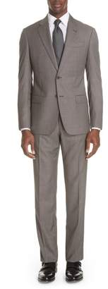 Emporio Armani G Line Trim Fit Solid Wool Suit