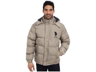 U.S. Polo Assn. Classic Short Bubble Coat w/ Big Pony Men's Coat