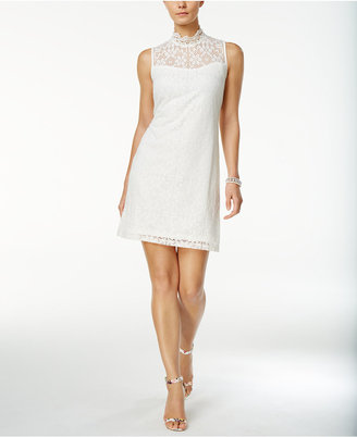 Ronni Nicole Lace Mock-Neck Sheath Dress $79 thestylecure.com
