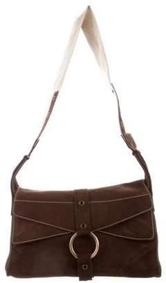 Dolce & Gabbana Suede Shoulder Bag