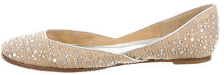 ValentinoValentino Jewel Round-Toe Flats
