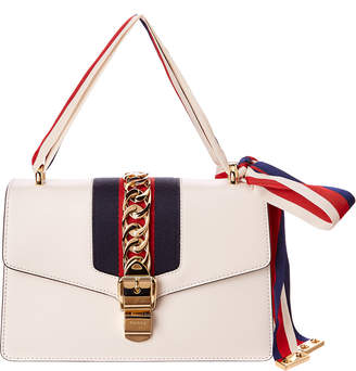 Gucci Sylvie Small Leather Shoulder Bag