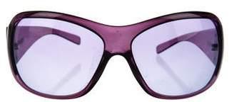 Versace Greca Oversize Sunglasses