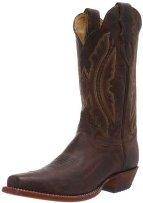 "Justin Boots Women's U.S.A. Domestic Western 12"" Boot Wide Square Double Stitch Toe Leather Outsole"