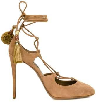 Dolce & Gabbana tied tassel pumps