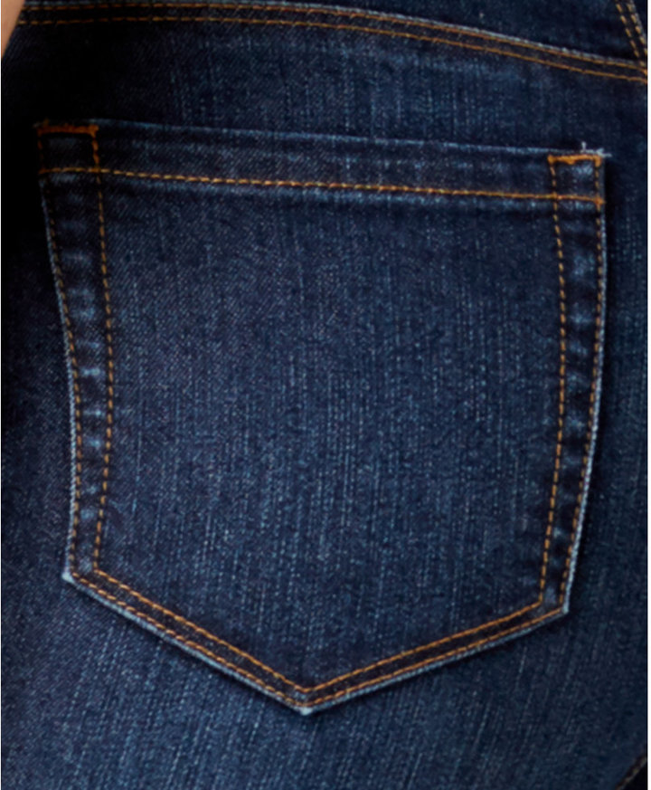 Style&Co. Style & Co Style & Co Petite Tummy-Control Boot-Cut Jeans, Bradford Wash, Created for Macy's