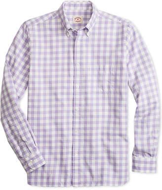 Brooks Brothers Men's Slim-Fit Flannel Gingham Shirt