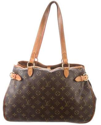Louis Vuitton Monogram Batignolles Horizontal Bag Brown Monogram Batignolles Horizontal Bag
