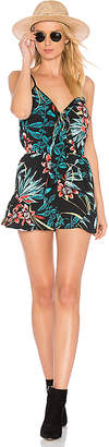 Band of Gypsies Tropical Playsuit in Black $55 thestylecure.com