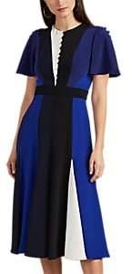 Prabal Gurung Women's Colorblocked Silk Dress - Black, Navy