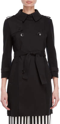 Atos Lombardini Stretch Belted Trench Coat