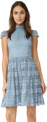 alice + olivia Maureen Cap Sleeve Dress $485 thestylecure.com