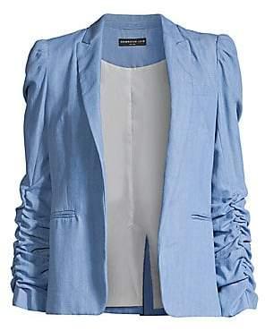 Generation Love Women's Juniper Ruched Sleeve Blazer