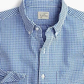 J.Crew Seersucker shirt in blue gingham