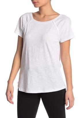 Susina Ruffle Trim Short Sleeve T-Shirt (Regular & Petite)